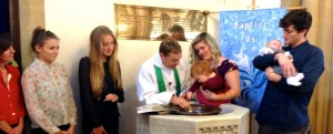 Child Thanksgiving and Baptism